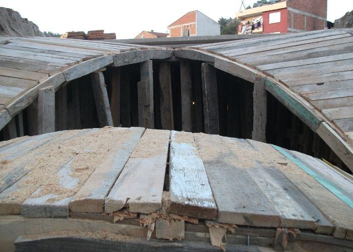 Gökçeağaç Hanı Çatı Tonozu Kalıp İmalatı