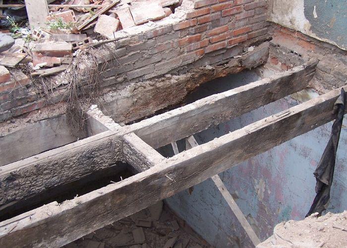 Eski Bina Ahşap Döşeme Sistemi
