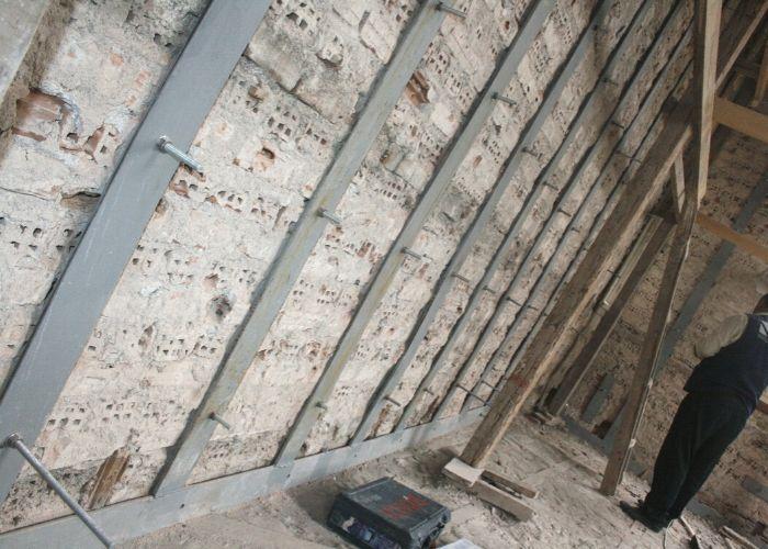 Eski Liman Başkanlığı Binası Lama Demiri İle Güçlendirme