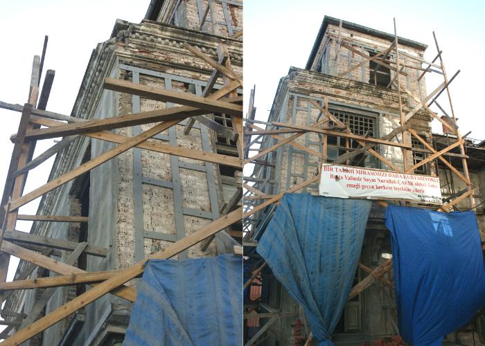 Eski Liman Başkanlığı Binası Güçlendirme Uygulaması