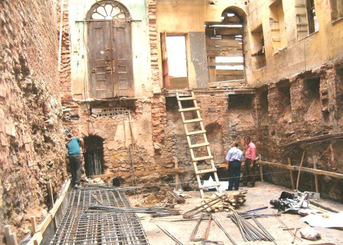 Bina İçinin Yıkılmış Hali