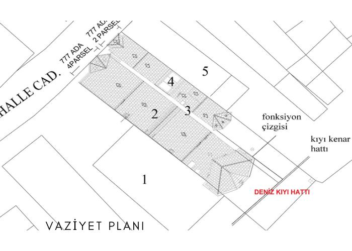 Yalı yerleşim planı