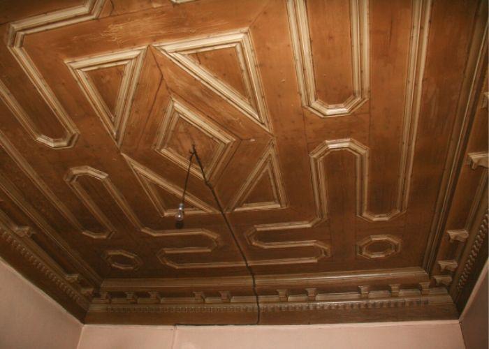 Hamamcıoğlu Yalısı Oda Tavanı