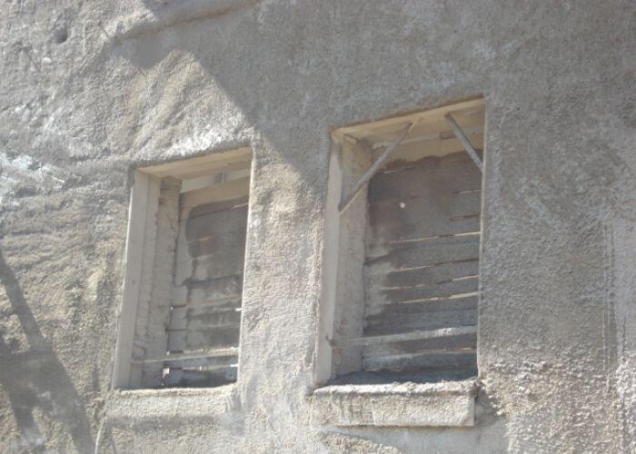 Atatütk İlköğretim Okulu Cephenin Beton ile Kaplanması