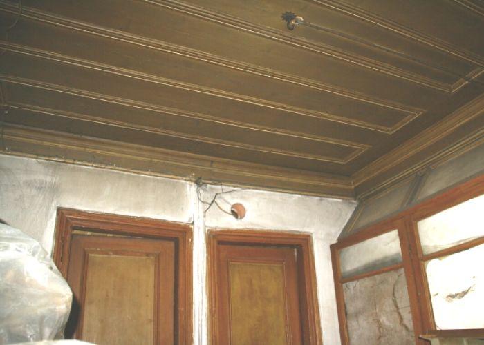 Hamamcıoğlu Yalısı Girişat oda tavanı