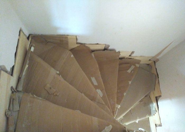 Tarlabaşı Önder Akyürek Evi Restorasyonu Ahşap Merdiven