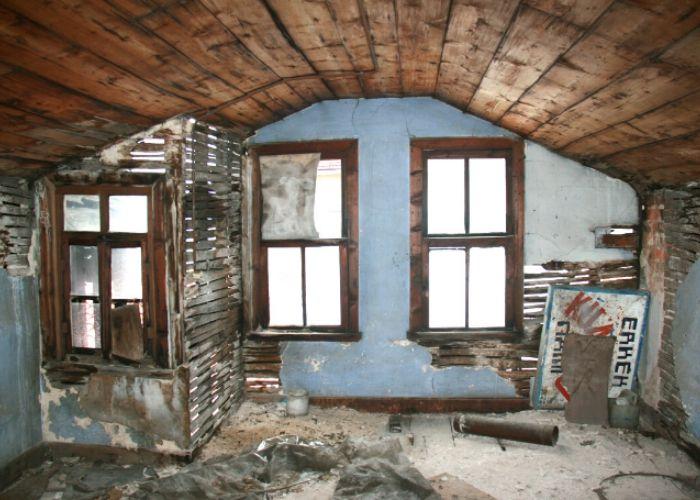 Hamamcıoğlu Yalısı Çatı katı görünüşü