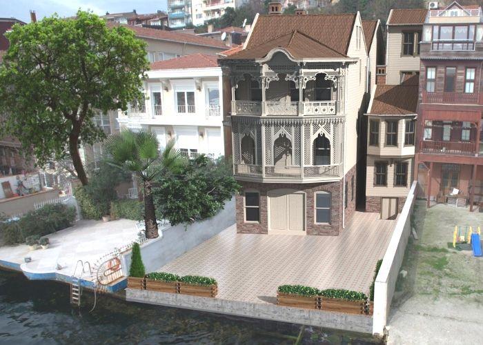 Hamamcıoğlu Yalısı Restorasyon Sonrası Görünüş (3D)