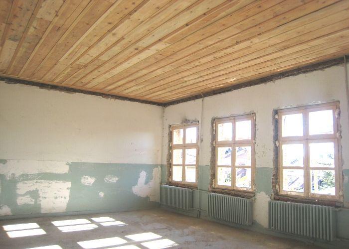 Atatürk İlköğretim Okulu Ahşap Tavan Restorasyonu