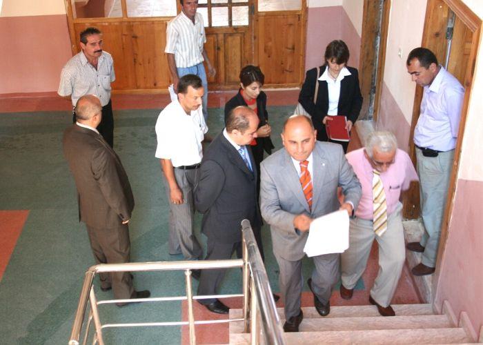 Tamamlanan restorasyonun Kastamonu Milli Eğitim Müdürlüğü ve Dünya Bankası Kontrollerine Teslim edilmesi