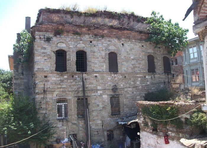 Turi Sina manastır Kütüphanesi Arka Görünüş