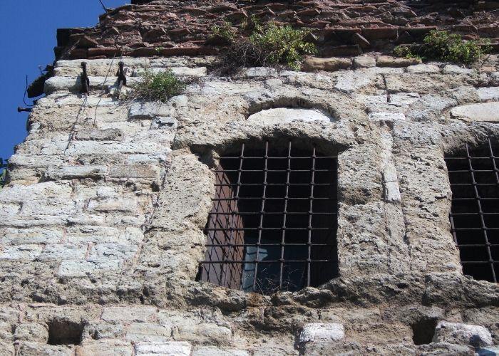 Turi Sina Manastır Kütüphanesi Pencere Görünüşü