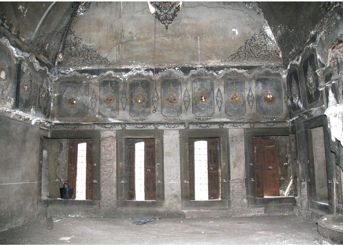 Turi Sina Manastır Kütüphanesi İç Görünüşü