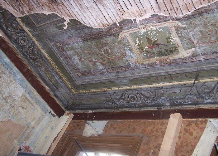 Eski Bina Tavan Kalem İşi Detayı