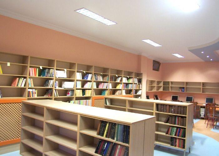 Kütüphane Dolapları