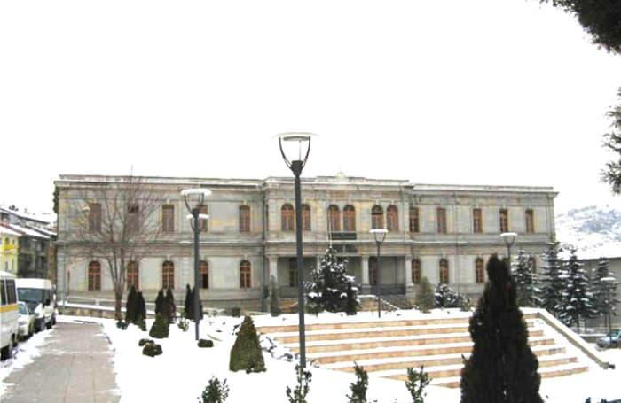 rektörlük binası restorasyonu